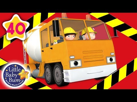 Construction Songs for Toddlers | London Bridge +More Nursery Rhymes & Kids Songs | Little Baby Bum