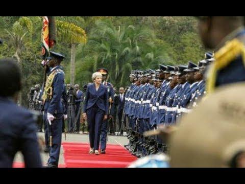 UK Prime Minister Theresa May's full speech at Nairobi Statehouse