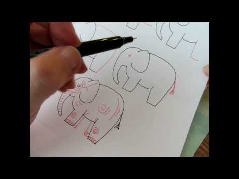 Part 1: Learn to Draw the Elephant – Fun & Easy Landscape Tutorial