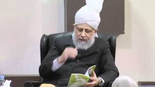 Gulshan-e-Waqfe Nau (Nasirat) Class: 20th November 2010 - Part 6 (Urdu)