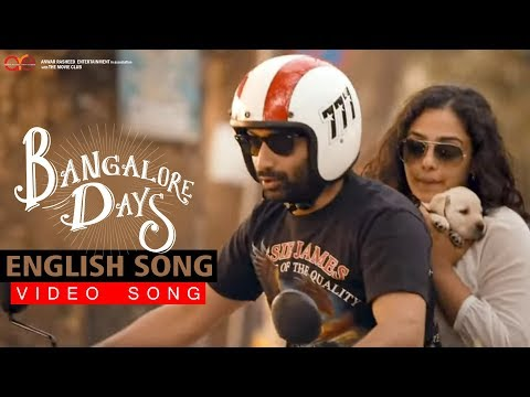 English Song | Video Song | Bangalore days