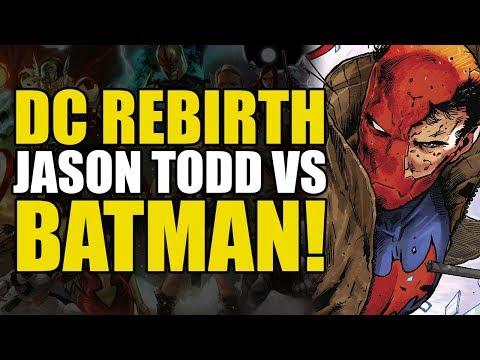 Red Hood vs Batman! (Red Hood And The Outlaws Vol 4: Good Night Gotham)