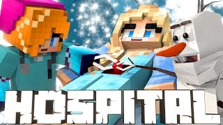 Broken Mods Hospital - Frozen Elsa Freezes Anna! (Minecraft Roleplay) #10