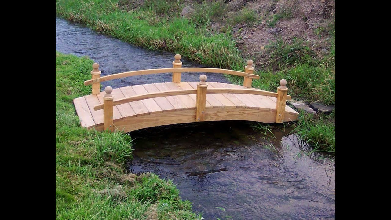 Garden bridge i garden bridge design youtube for Fish pond bridges