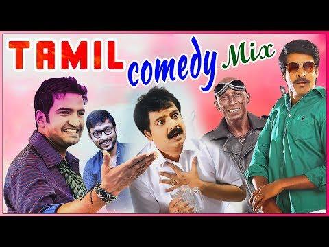 Tamil Comedy Mix   Raja Rani   Deiva Thirumagal   Vadacurry   Soori   Santhanam   Vivek   Rajendran