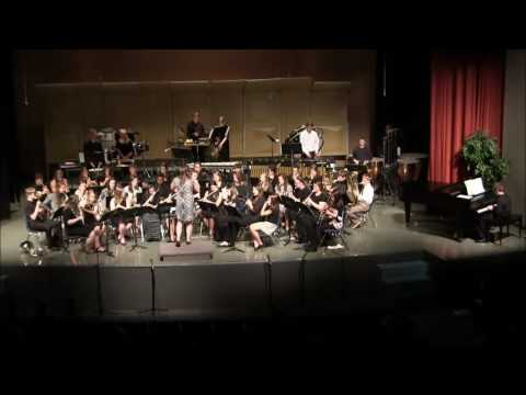 Sabetha Middle School Band Spring 2016 7 and 8