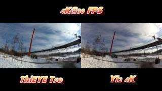 ThiEye T5e versus YI2 4K Test 2160P@30fps