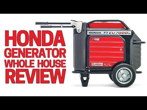 ⚡️Honda Generator EU7000is In Depth Review - Upgrade to Honda EU6500i Best Generator 2018