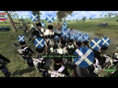 Sapper only battle in Mount and Blade Napoleonic Wars   92nd Highlanders
