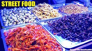 Street Food Compilation, Asian Street Food, Fast Food Street In Asia #289 (dry Squid, Bread Meats)