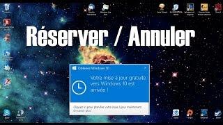 [Tuto] Comment réserver ou annuler la réservation de Windows 10