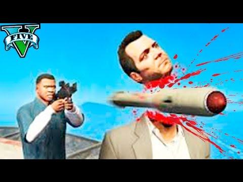 TOP 50 BRUTALES MUERTES EN GTA 5 !