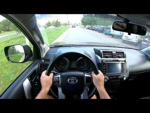 2017 Toyota Land Cruiser Prado 2.7L (163) POV TEST DRIVE