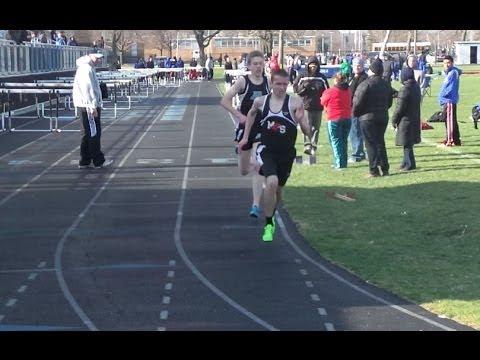 2014-4-16 IHSA Track 3200 Meters CSL @ Maine West High School, Des Plaines, IL