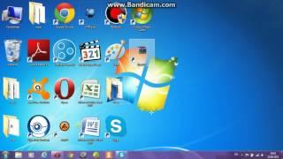 как уменьшать значки на робочем столе в windows7(выпуск 3)