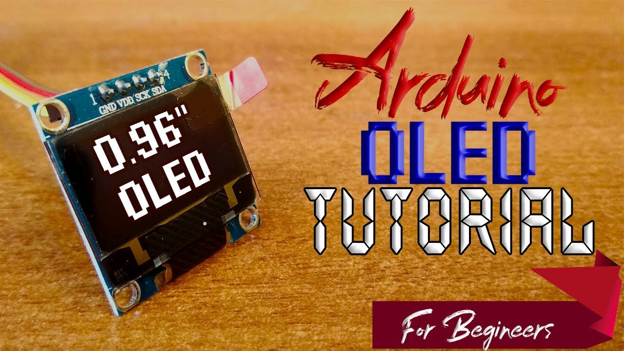 OLED I2C DISPLAY WITH ARDUINO Tutorial : 7 Steps (with Pictures)