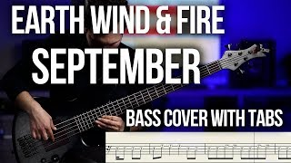 Earth Wind Fire September BASS COVER with TABS.mp3