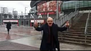 Stan Tutaj w Londynie. Arsenal