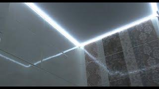 видео оригинальное потолочное освещение