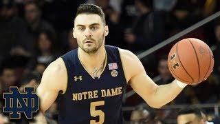 Matt Farrell Hits 10 3-Pointers, Ties Notre Dame Record vs. BC