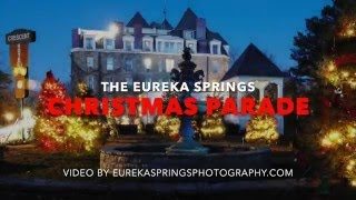 Travel Tips for Eureka Springs Arkansas Photography - Christmas Parade