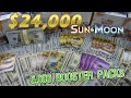 24 000 Pokemon Opening LARGEST EVER 6 000 Sun Moon Packs 167 Booster Boxes mp3