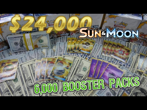 $24,000 Pokemon Opening!!! - LARGEST EVER! 6,000 Sun & Moon Packs (167 Booster Boxes!)
