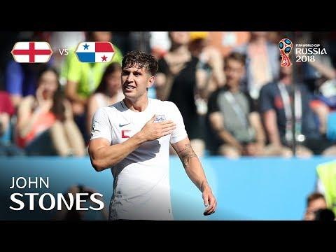 John STONES Goal 2 -  England v Panama - MATCH 30