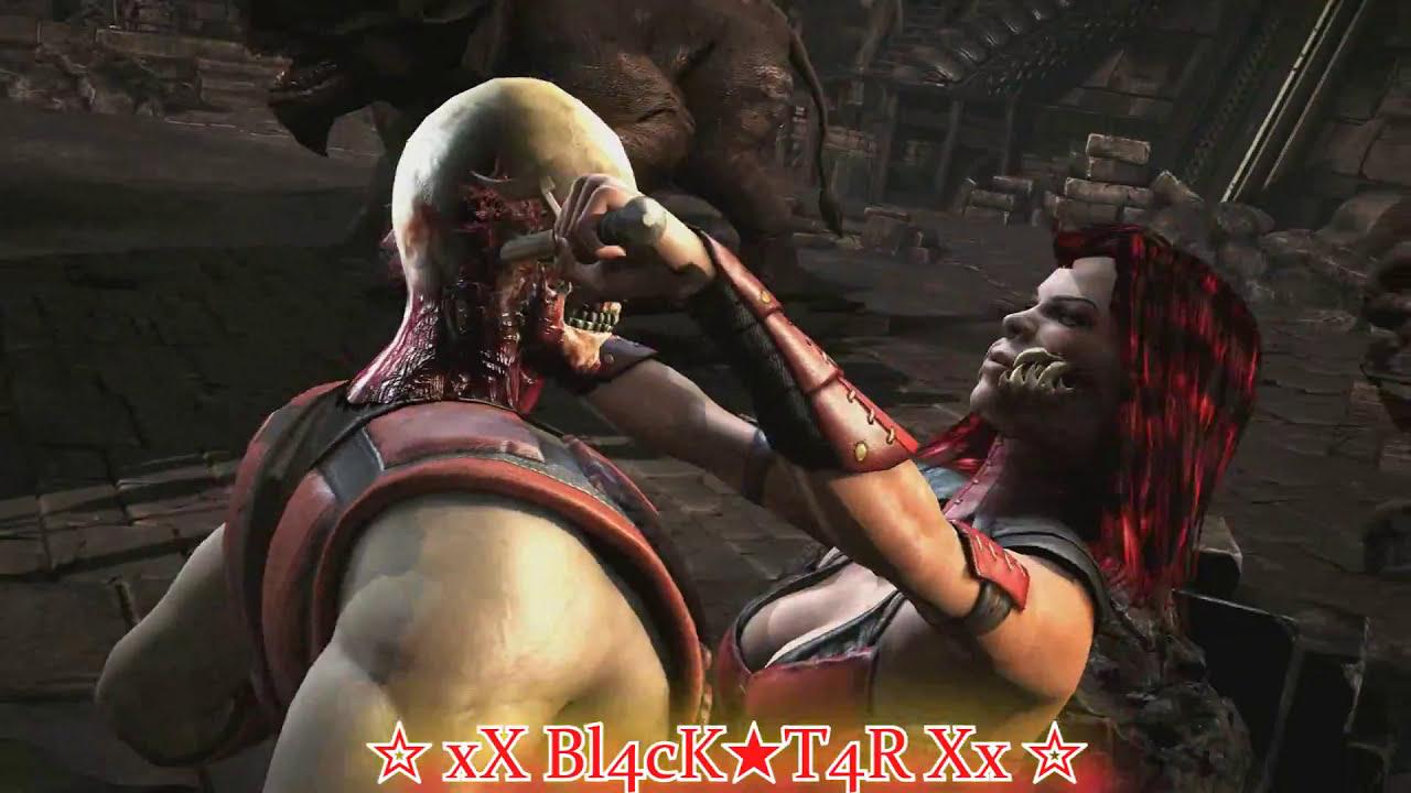 MKX (PC): Mileena Re-skin Mod (Dark Assassin a k a  She Devil & Khameleon  Skin (Beta v 1) By Me! :)