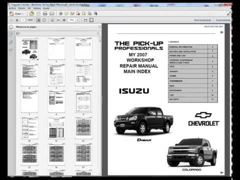 2004 chevy colorado and gmc canyon repair shop manual original 3.