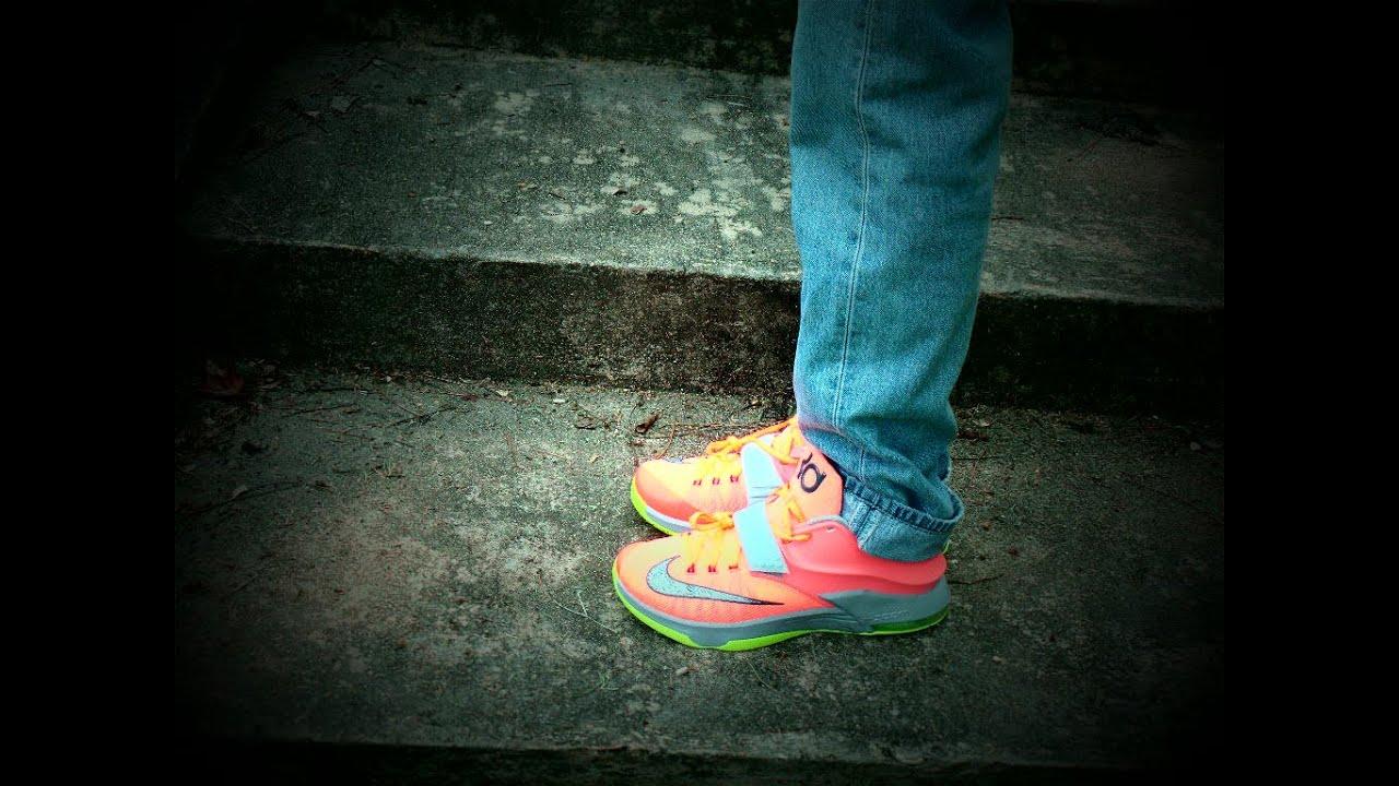 Kd 7 35k Degrees On Feet Nike Kd 7 '...