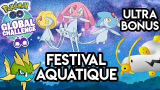 PoGo News FR - Événement Festival Aquatique - Ultra Bonus - Suivi d'exploration - 5G- Raids & Shiny