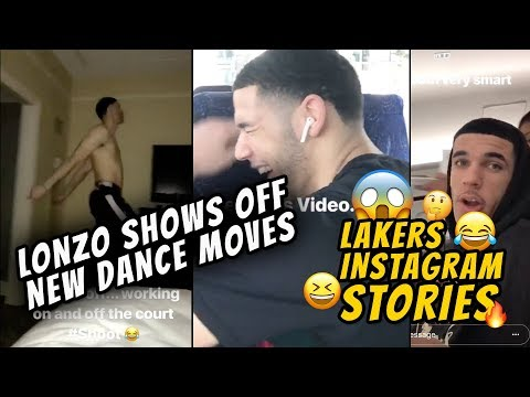Lonzo Ball Shows Off Some New Dance Moves