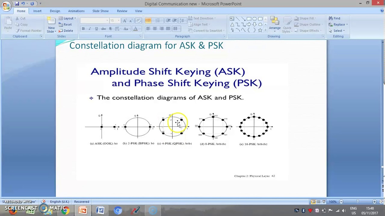 Constellation Diagram In Digital Communication 12v Illuminated Rocker Switch Wiring Youtube