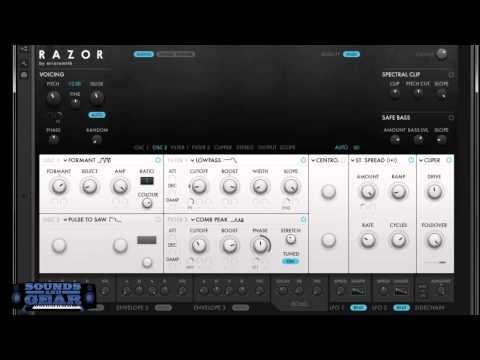 Native Instruments RAZOR Synth Review - SoundsAndGear