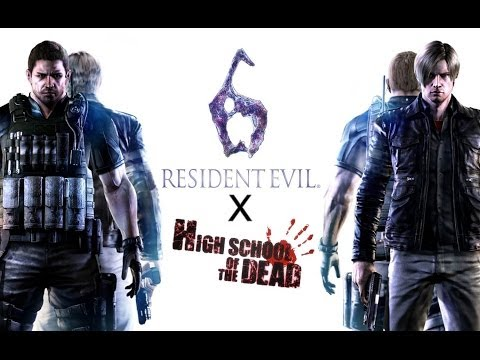 MAD] Resident Evil 6 E3 Trailer x Highschool of the Dead Song - YouTube
