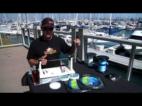 Fishing Tackle Rigging Tips - Tying a Seaguar Wind On Leader -  bdoutdoors.com