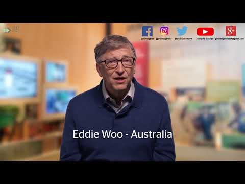 Küresel Öğretmen Ödülleri'nde bir TÜRK, Bill Gates açıklıyor. Global Teacher Prize 2018 Top 10