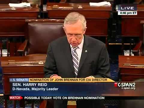 Rand Paul Smacks Down Harry Reid's Attempt to End His Brennan Filibuster