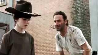 "The Walking Dead - Rick ""Oh no no no "" ( Lori Dies)"