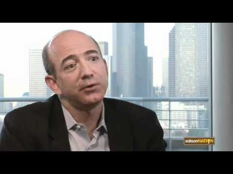 Talking Innovation and Entrepreneurship with Amazon Founder and CEO, Jeff Bezos