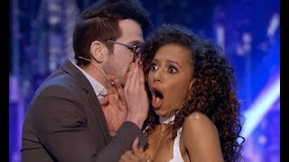 Mind Reader Tells Mel B's Her Darkest Secret | Judge Cut 2 | America's Got Talent 2017 thumbnail