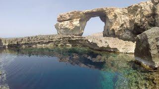 Diving the Blue Hole & Azure Window 23 April 2015 (Gozo - Malta)