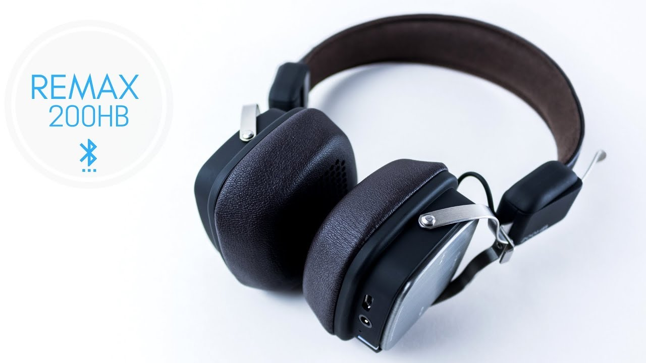 Remax 200hb Bluetooth Headphones Review Budget Youtube
