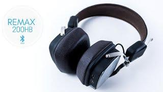 REMAX 200HB Bluetooth Headphones Review Budget