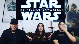 Star Wars THE RISE OF SKYWALKER - Episode 9 FINAL Trailer Reaction / Review