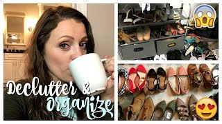 Organize & Declutter with Me | Shoes, Accessories, Closet
