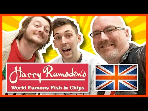 ★ Fish & Chips ★ in Southampton, England w/ Pauly & Matt from Where's My Challenge