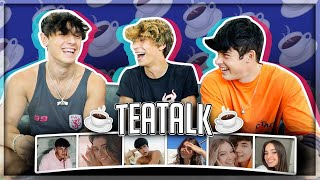 Noah Beck & Griffin Johnson Beef?! #Teatalk Jaden Hossler & Mads Lewis Dating?