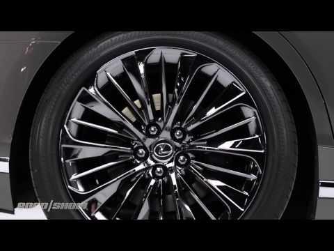 2018 Lexus LS 500 boasts 415 ponies, world's largest head up display at Detroit